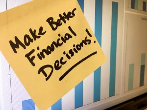 new years goal of making better financial decisions