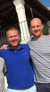 Professional traders Greg Gronewald and Lee Sandford