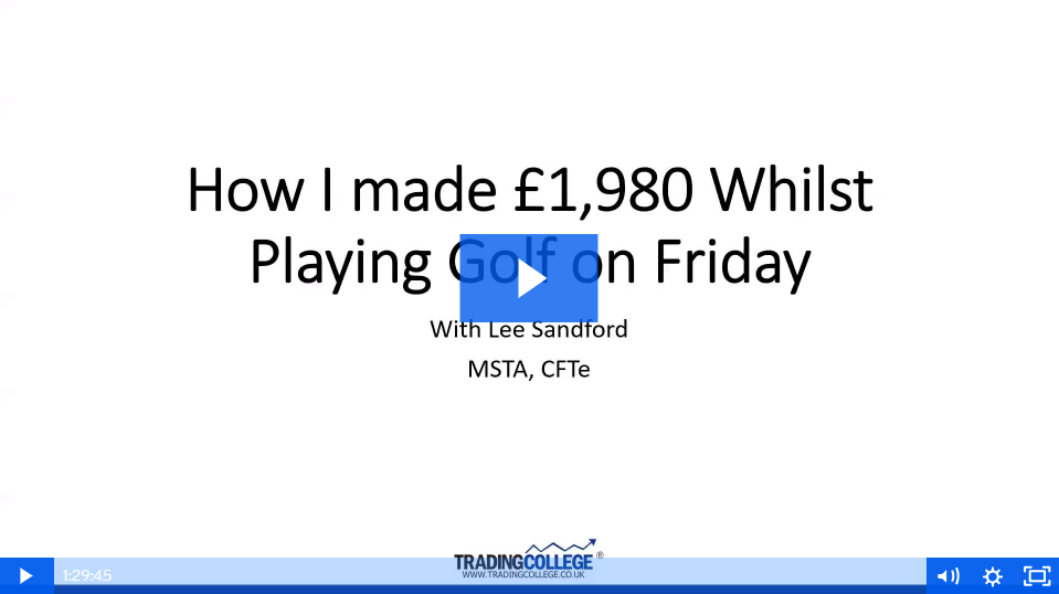 How I Made £1,980 Whilst Playing Golf on Friday